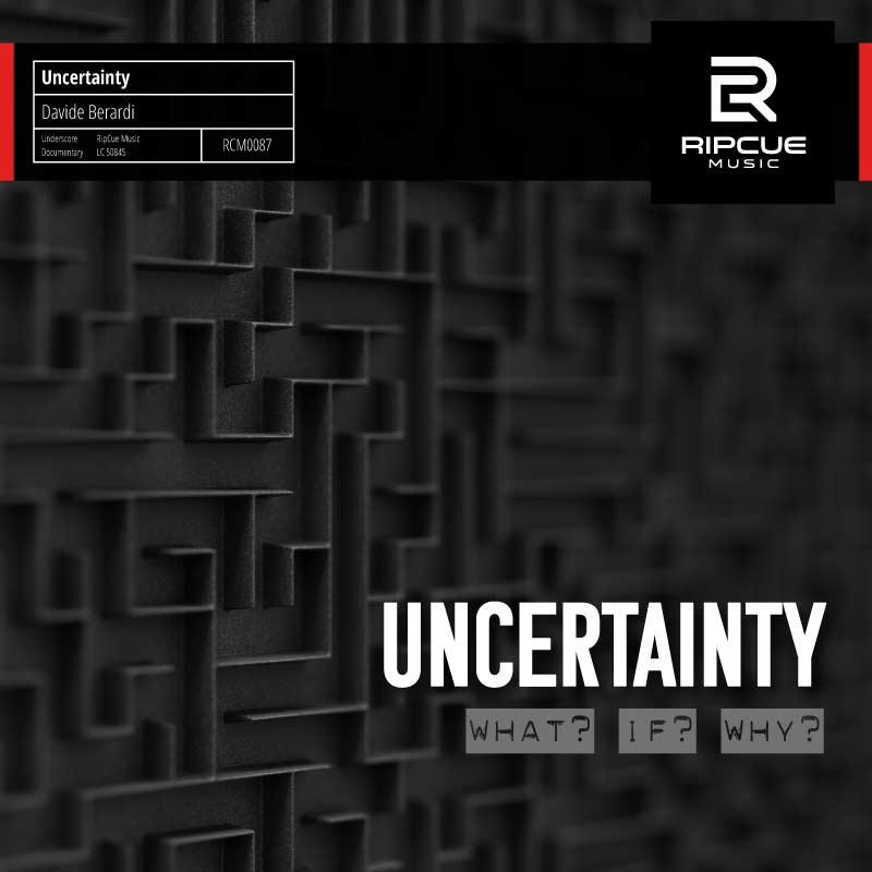 Uncertainty von Davide Berardi - Die Ungewissheit was als nächstes passiert.