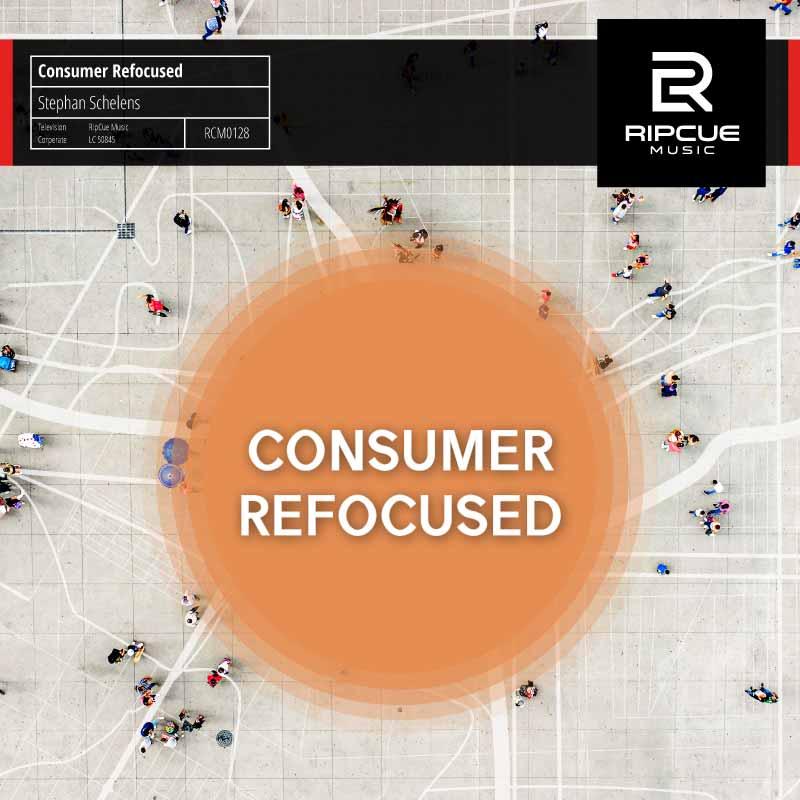 Library Music Album von Stephan Schelens Consumer Refocused