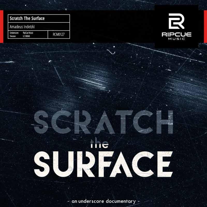 Library Music Album von Amadeus Indetzki Scratch The Surface