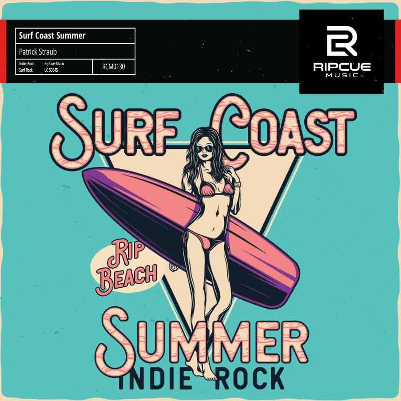 Library Music Album Surf Coast Summer von Patrick Straub